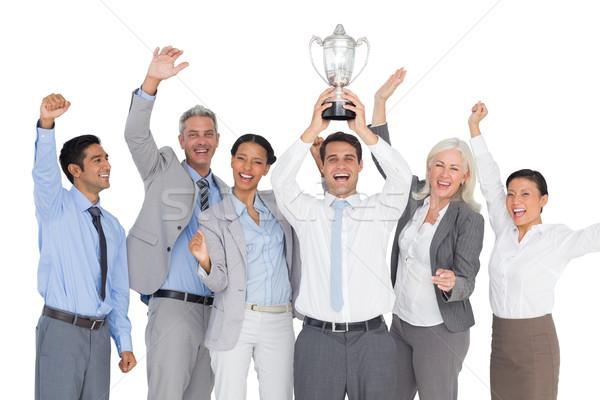 ビジネスの方々  カップ 白 女性 ストックフォト © wavebreak_media