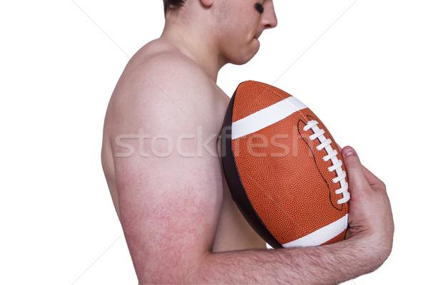 シャツを着ていない アメリカン ボール プロファイル ストックフォト © wavebreak_media