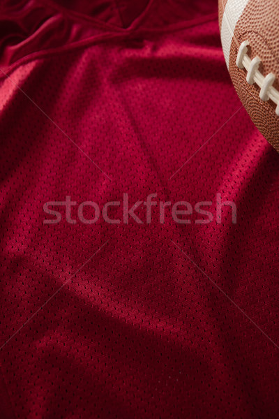 Cropped image of American football on jersey Stock photo © wavebreak_media