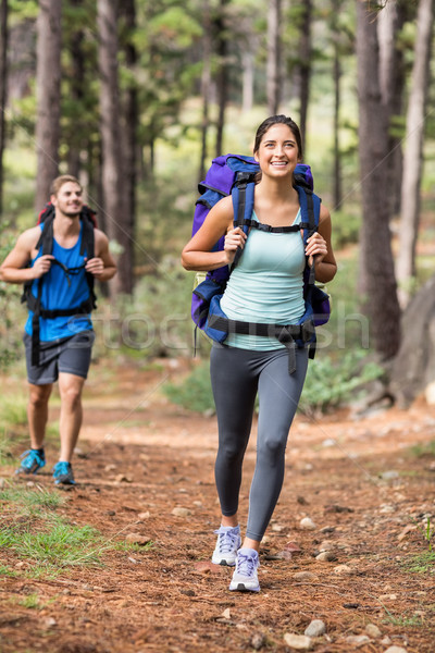 Happy joggers running Stock photo © wavebreak_media