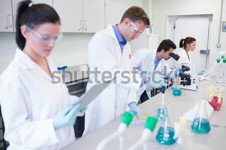 Dentista equipos médicos examinar nino Foto stock © wavebreak_media