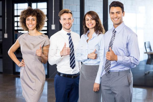 Geslaagd business team vieren overwinning Stockfoto © wavebreak_media