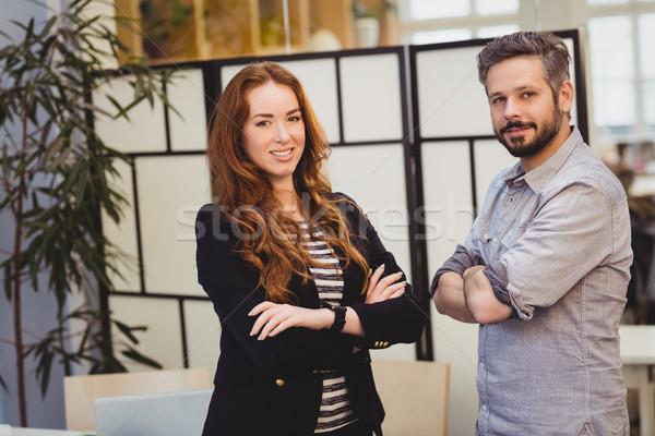 Creative business people standing in creative office Stock photo © wavebreak_media