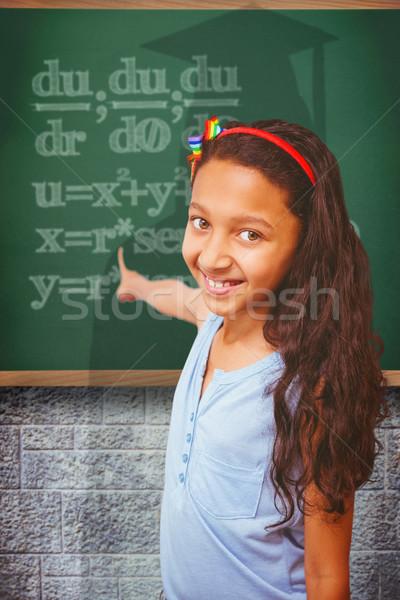 Bild glücklich Hinweis Kind Studenten Stock foto © wavebreak_media