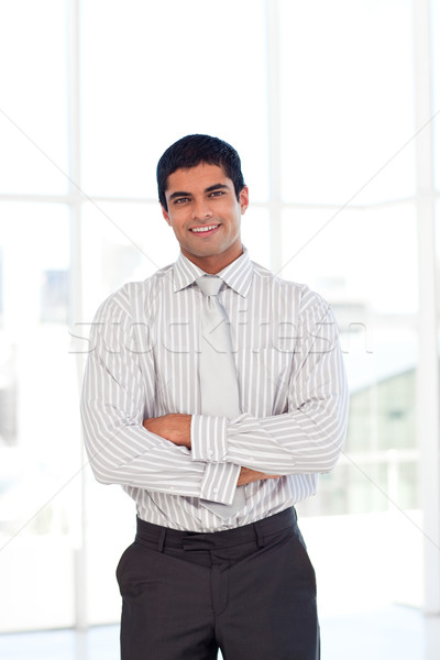 Businessman with folded arms Stock photo © wavebreak_media