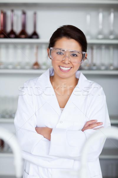 Portrait of a young scientist posing in a laboratory Stock photo © wavebreak_media