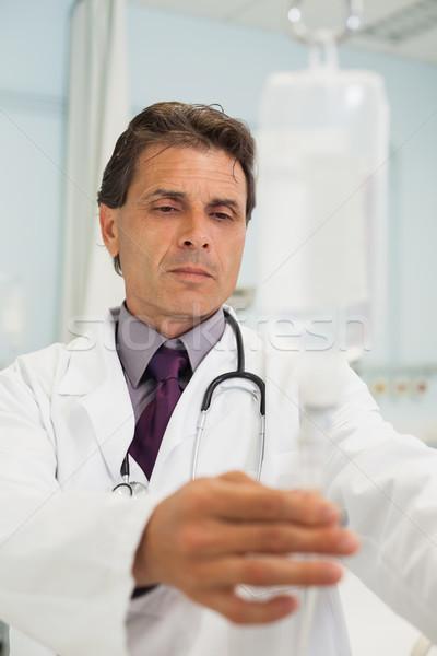 врач Постоянный больницу медицинской лаборатория Сток-фото © wavebreak_media