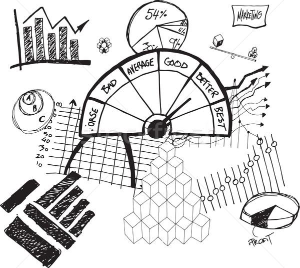 Business rating illustrations Stock photo © wavebreak_media