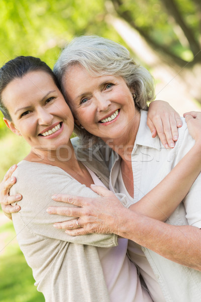 Portrait of a mature woman with adult daughter Stock photo © wavebreak_media