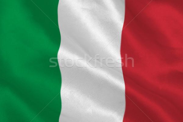 Drapeau italien numérique bannière Photo stock © wavebreak_media