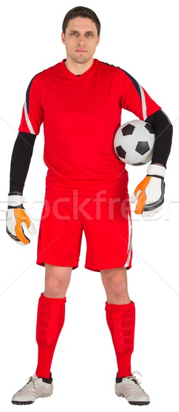 Fit goal keeper looking at camera Stock photo © wavebreak_media