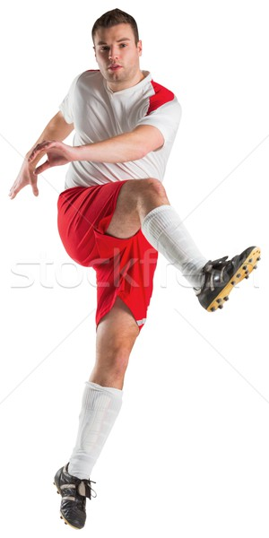 Futbolista blanco fútbol mundo fútbol Foto stock © wavebreak_media