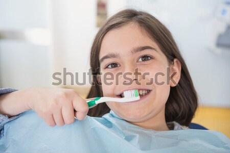 стоматолога зубов Стоматологи Председатель стоматологических Сток-фото © wavebreak_media