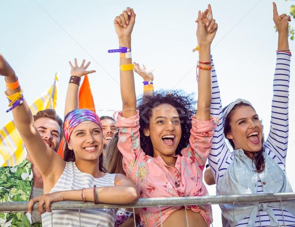 幸せ ヒップスター リスニング ライブ 音楽 音楽祭 ストックフォト © wavebreak_media