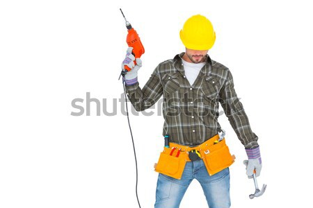 Handyman standing arms crossed Stock photo © wavebreak_media