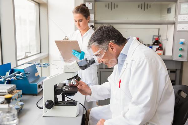Team wetenschappers werk laboratorium school medische Stockfoto © wavebreak_media