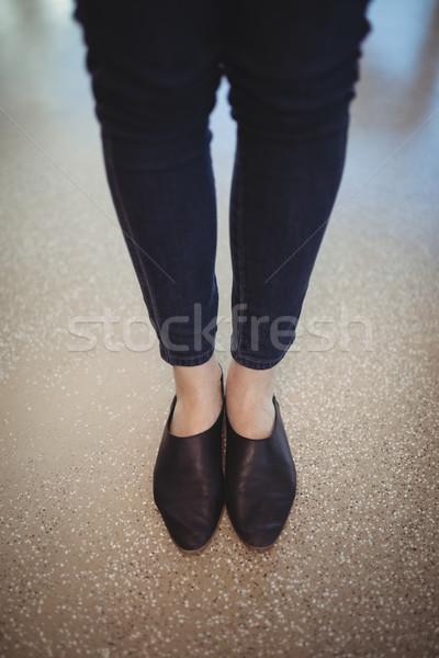низкий исполнительного расслабляющая служба женщину Сток-фото © wavebreak_media