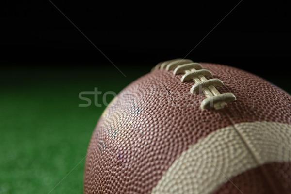 Football artificielle gazon noir Photo stock © wavebreak_media