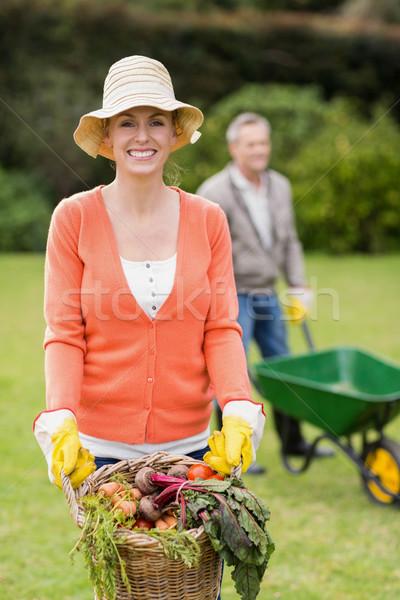 Cute couple doing some gardening Stock photo © wavebreak_media