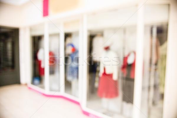 Geschäften Einkaufszentrum Schaufensterauslage Laden Reise städtischen Stock foto © wavebreak_media