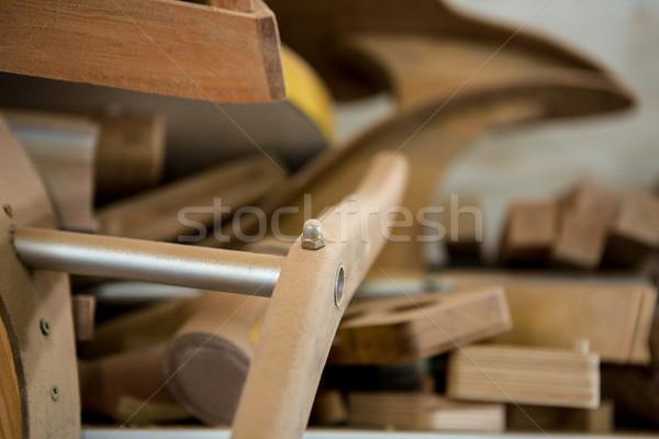 Zoom of piece of wood Stock photo © wavebreak_media