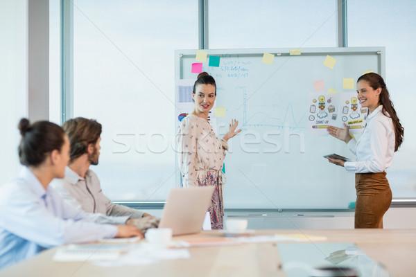 Business altro sala conferenze ufficio Foto d'archivio © wavebreak_media