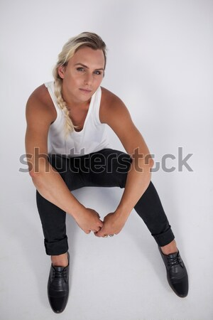 High angle portrait of transgender woman Stock photo © wavebreak_media