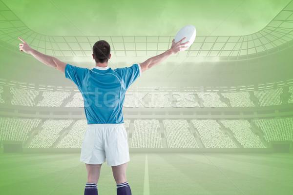 Immagine rugby giocatore verde Foto d'archivio © wavebreak_media