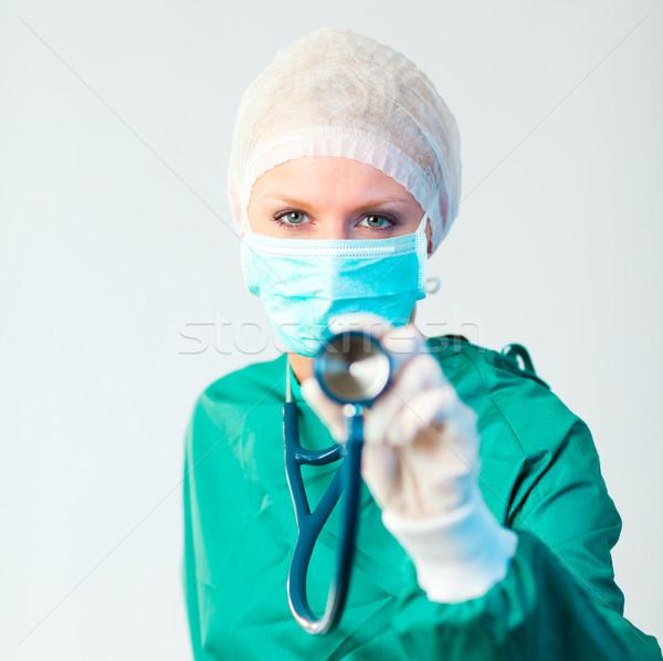 Chirurgo giovani femminile donne Foto d'archivio © wavebreak_media