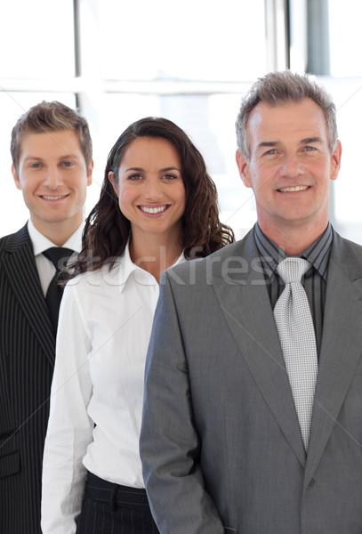 старший деловой человек ведущий группа команда бизнеса Сток-фото © wavebreak_media