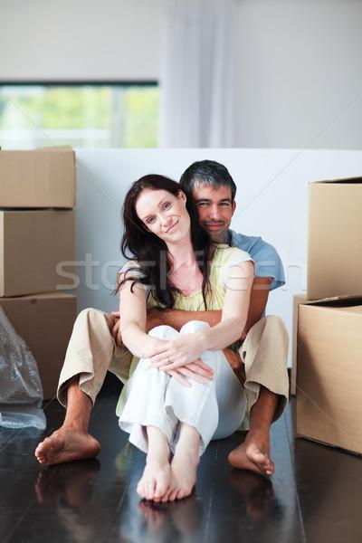 Couple moving house Stock photo © wavebreak_media