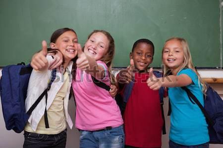 Fotocamera classe scuola studente Foto d'archivio © wavebreak_media
