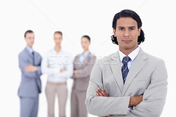 ストックフォト: クローズアップ · ビジネスマン · 人 · 腕 · 白 · 男