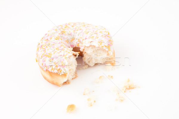 Sugar doughnut with crumbs Stock photo © wavebreak_media