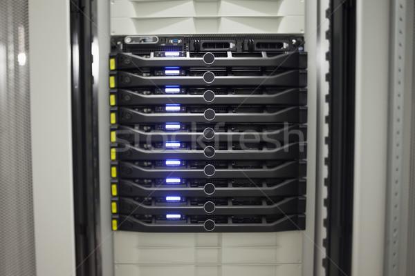 серверы окна прихожей интернет Сток-фото © wavebreak_media