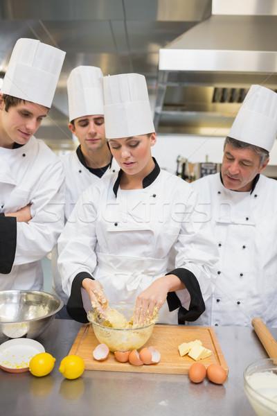 学習 キッチン 食品 笑顔 幸せ レストラン ストックフォト © wavebreak_media