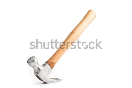 Bilanciamento sottosopra martello legno gestire equilibrio Foto d'archivio © wavebreak_media