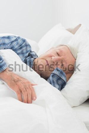 Old man sleeping Stock photo © wavebreak_media
