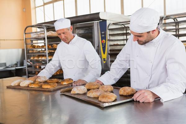 Pane cucina panetteria business Foto d'archivio © wavebreak_media
