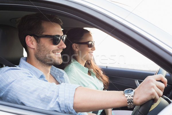 Young couple on a road trip Stock photo © wavebreak_media