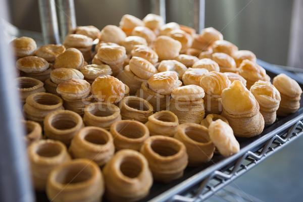 Cas remplissage délicieux boulangerie Photo stock © wavebreak_media