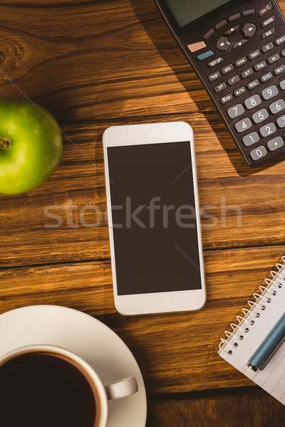 Overhead shot of smartphone  Stock photo © wavebreak_media