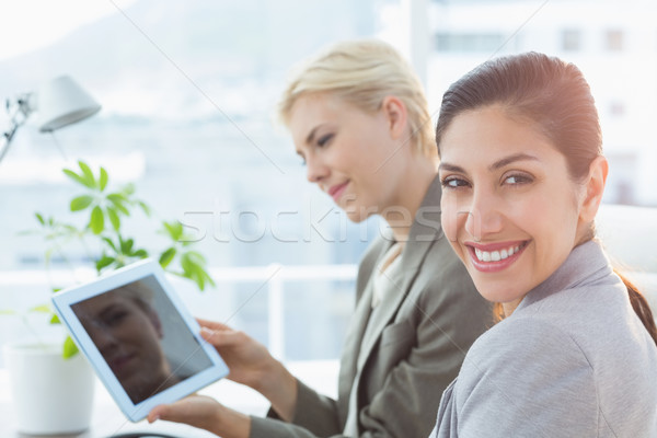 Businesswomen using tablet Stock photo © wavebreak_media