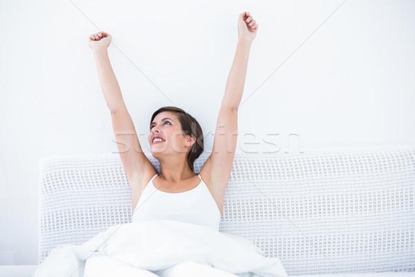 Happy woman waking up  Stock photo © wavebreak_media