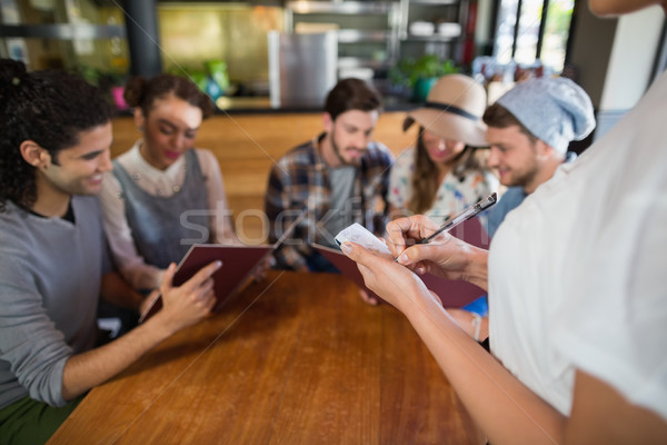 ウエートレス レストラン 表示 ストックフォト © wavebreak_media