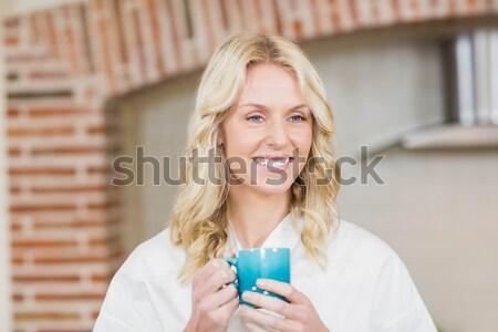 Człowiek pierścionek zaręczynowy strony restauracji kobieta miłości Zdjęcia stock © wavebreak_media