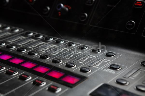 Ses mikser müzik konuşmacı Stok fotoğraf © wavebreak_media