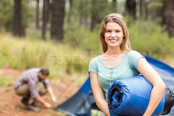 Portret młodych dość turysta snem Zdjęcia stock © wavebreak_media
