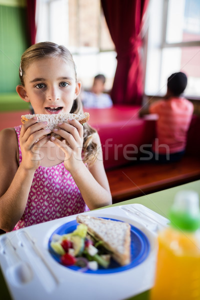 Child eating at the canteen  Stock photo © wavebreak_media