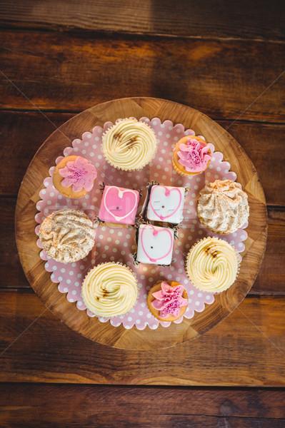 Close-up of various cookies Stock photo © wavebreak_media